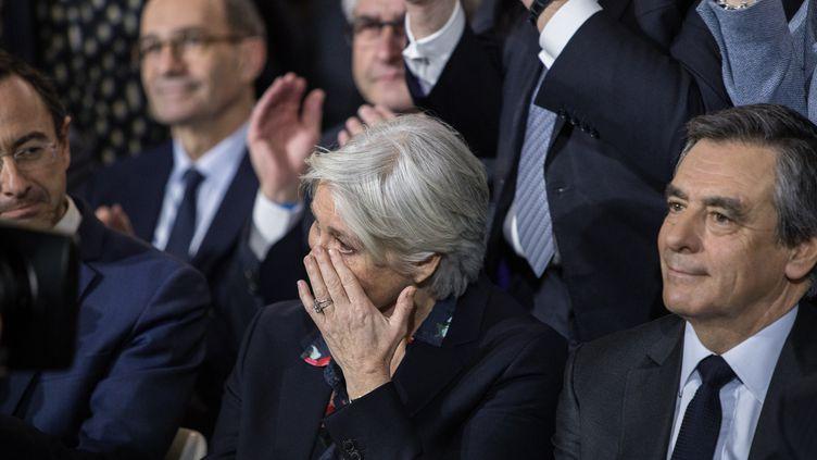 Penelope Fillon, lors du meeting à Paris, le 29 janvier 2017, de son mari, François Fillon. (CITIZENSIDE/SADAK SOUICI / CITIZENSIDE)
