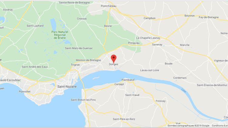 Donges (Loire-Atlantique) (GOOGLE MAPS)