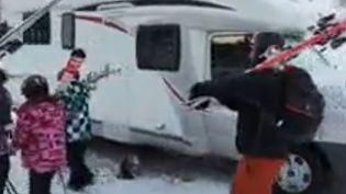 camping car ski (France 3)