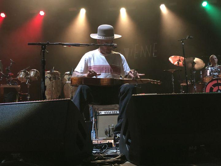 Ben Harper le 24 juillet 2019 sur la scène de Jazz à Vienne (Jean-François Convert)