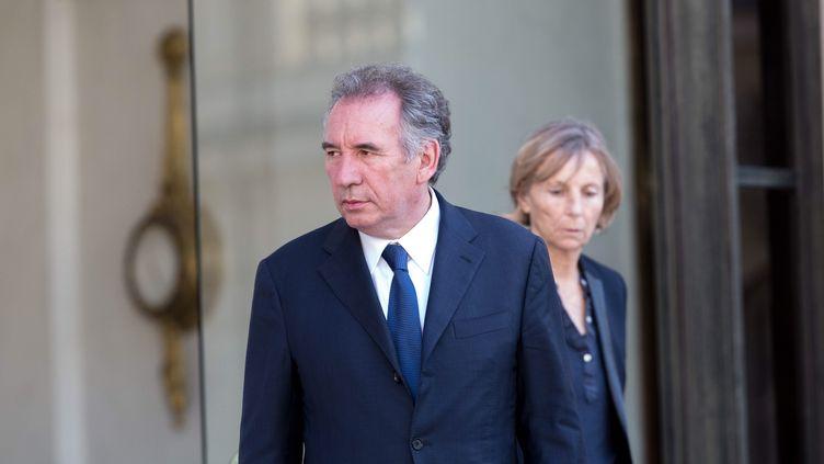 François Bayrou et Marielle de Sarnez, en juin 2016, à l'Elysée. (MAXPPP)