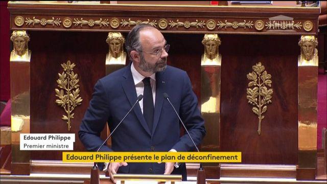 REPLAY. Edouard Philippe parle du déconfinement à l'Assemblée nationale