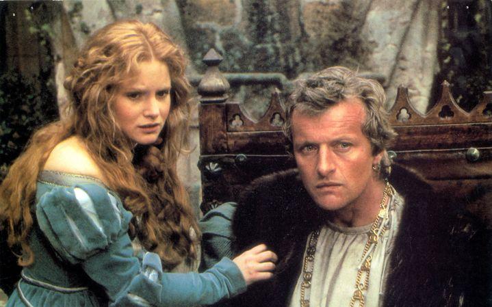 """Jennifer Jason Leigh et Rutger Hauer dans """"La Chair et le sang"""", 1985. (ARCHIVES DU 7EME ART)"""