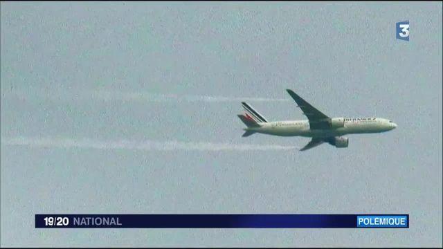 Un avion d'Air France vidange son kérosène au-dessus de la forêt de Fontainebleau