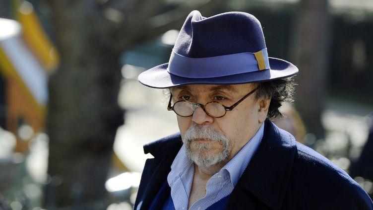 Jean-Michel Ribes, directeur du théâtre du Rond-Point à Paris, 10 mars 2014. (LIONEL BONAVENTURE / AFP)