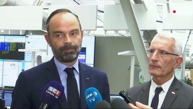 """SNCF : Edouard Philippe dénonce un """"détournement du droit de retrait"""" à l'impact """"inacceptable"""" sur le trafic de la SNCF"""