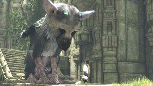 """L'un des jeux les plus remarqués de l'année, """"The Last Guardian"""" (Japan Studios, Sony) raconte l'amitié poétique entre un jeune garçon et une créature mi-chien, mi-griffon"""