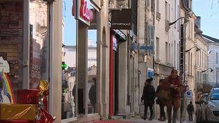 Rue commerçante de Périgueux (Dordogne). (FRANCE 3)