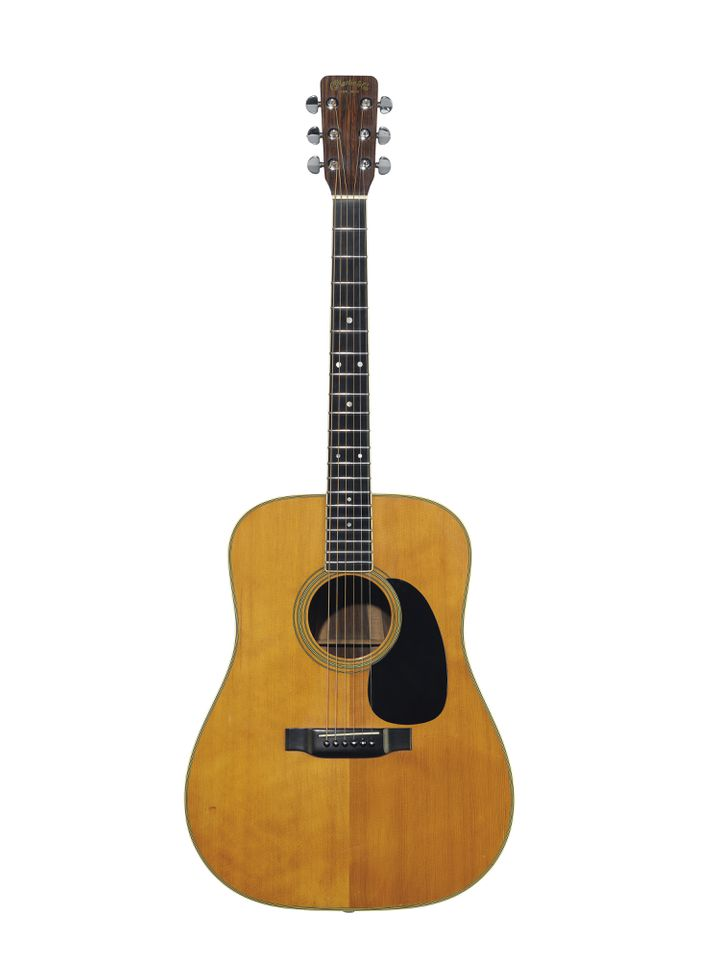 C.F. MARTIN & COMPANY, NAZARETH, 1969 - AN ACOUSTIC GUITAR, D-35 (CHRISTIE'S - THE DAVID GILMOUR GUITAR COLLECTION)