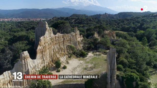 Pyrénées-Orientales : des cheminées de fée millénaires