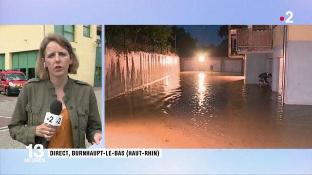 Haut-Rhin : plusieurs dizaines de communes traversées par les orages