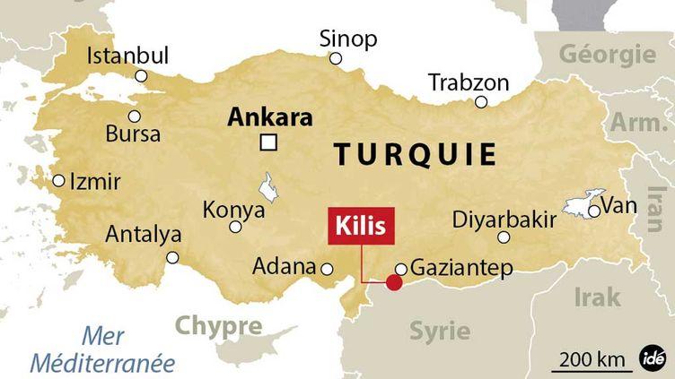 (La ville de Kilis accueille déjà le plus grand camp de réfugiés de Turquie)