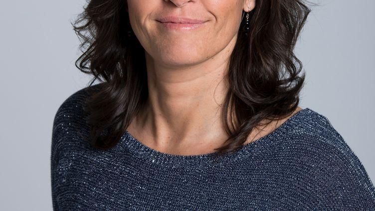 Valérie Nicolas, l'ancienne gardienne de l'équipe de France, consultante France Télévisions pour les JO (NATHALIE GUYON)