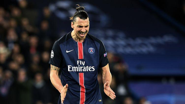 Zlatan Ibrahimovic toute rage dehors (FRANCK FIFE / AFP)