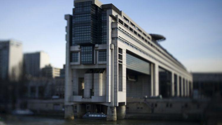 Le ministère de l'Economie et des Finances, à Paris, le 15 mars 2013. (FRED DUFOUR / AFP)