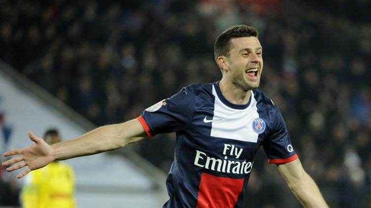 Thiago Motta prolonge son contrat au PSG jusqu'en 2016. (JEAN MARIE HERVIO / DPPI MEDIA)