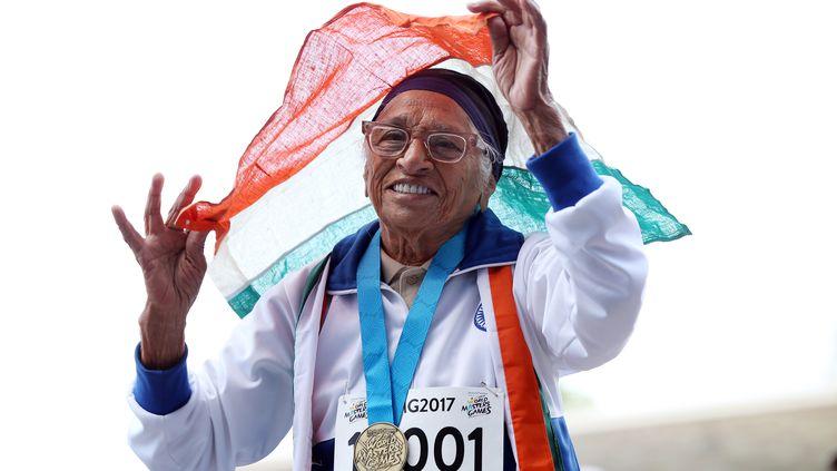 L'Indienne Man Kaur (MICHAEL BRADLEY / AFP)