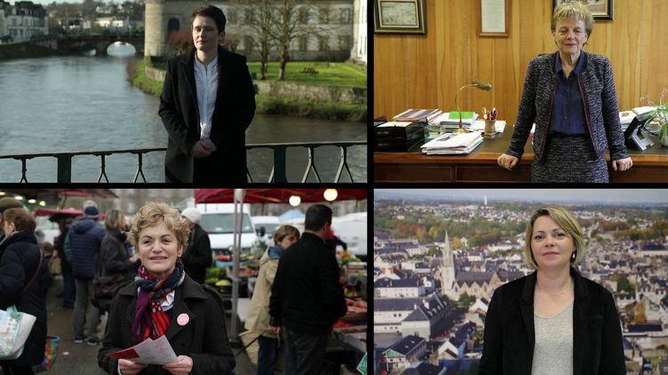 En France, 16% des maires de communes sont des femmes. À Pontivy, dans le Morbihan, la maire sortante a fait des émules. Aux municipales, en mars, elle aura affaire à trois autres femmes têtes de liste. (France 2)