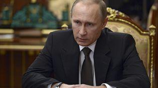 Le président russe Vladimir Poutine, photographié au Kremlin à Moscou, le 17 novembre 2015. (REUTERS)
