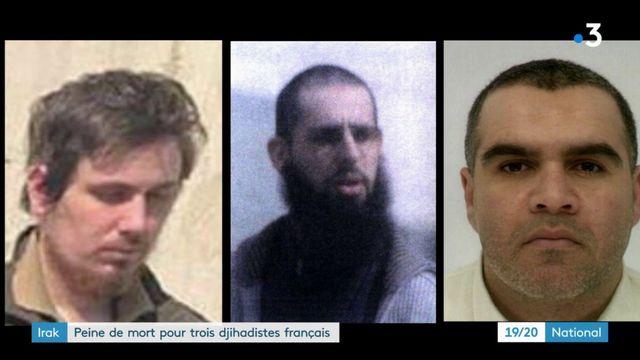 Irak : trois jihadistes français condamnés à mort