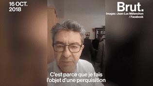 """VIDEO. """"Il n'y a pas un pays au monde où on fait ça !"""" : l'énorme colère de Jean-Luc Mélenchon après la perquisition de son domicile (BRUT)"""