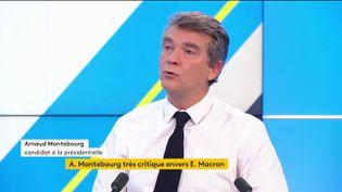 Arnaud Montebourg (FRANCEINFO)