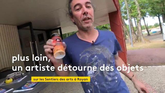 """À Royan, l'exposition """"Les Sentiers des arts"""" célèbre l'art urbain"""