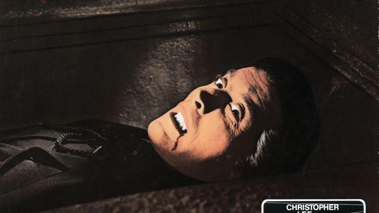 """L'acteur britannique Christopher Lee dans le rôle de Dracula dans """"Le Cauchemar de Dracula"""" (1958) de Terrence Fisher (ARCHIVES DU 7EME ART)"""