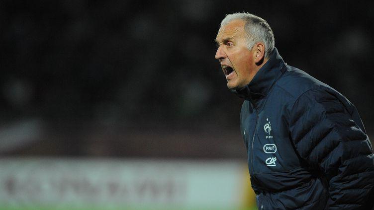 Philippe Bergeroo, le sélectionneur de l'équipe de France (JEAN PAUL THOMAS / THOMAS PICTURES)