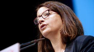 Cécile Duflot, député EELV, à Reims le 9 septembre 2016. (FRANCOIS NASCIMBENI / AFP)
