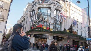 Le magasin BHV, à Paris, le 9 décembre 2015. (MAXPPP)