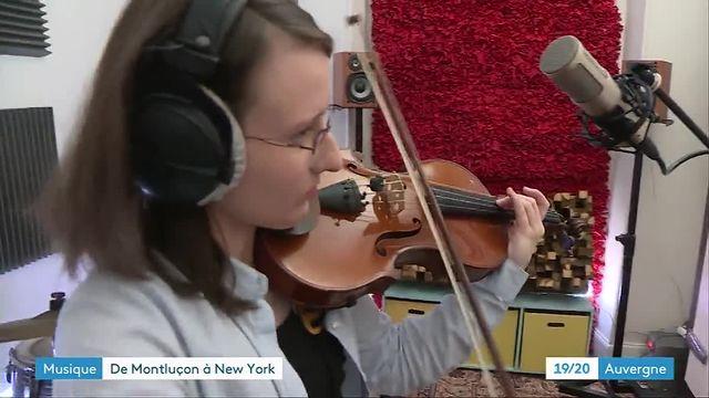 Une violoniste de Montluçon repérée par un label américain