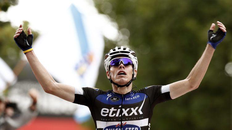 Victoire d'étape et maillot rouge pour David de la Cruz (JAVIE LIZON / EFE)