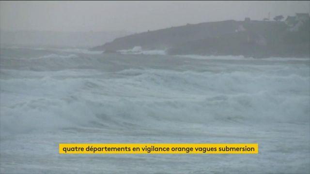Vagues-submersion : quatre départements du Nord en alerte