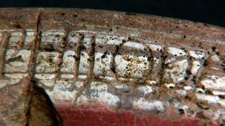 Un détail d'écriture sur un fragment gallo-romain (V. Benais)