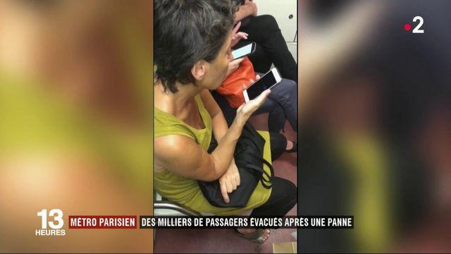 Métro parisien : des milliers de passagers évacués après une panne
