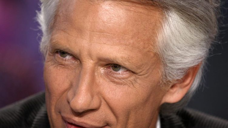 Dominique de Villepin (29/01/2010). (AFP)