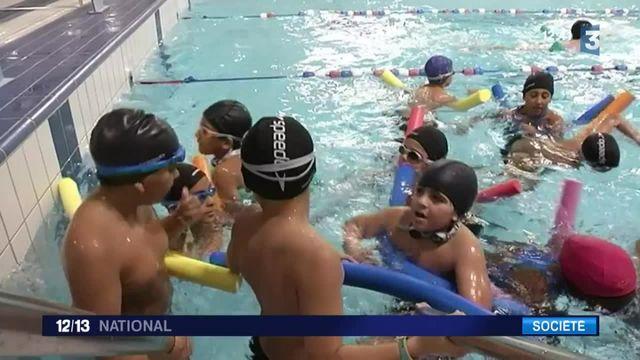 Opération natation pour le Secours populaire