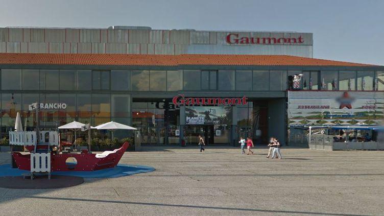 Capture d'écran d'une Google Street View du cinéma Gaumont des Docks Vauban du Havre (Seine-Maritime). ( GOOGLE STREET VIEW / FRANCETV INFO )