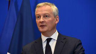 Bruno Le Maire, le ministre de l'Économie, le 9 mars 2020 à Paris. (ERIC PIERMONT / AFP)