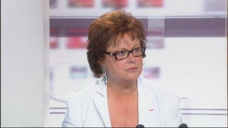 Christine Boutin aux 4 Vérités le 6 septembre 2011 (FranceTV)
