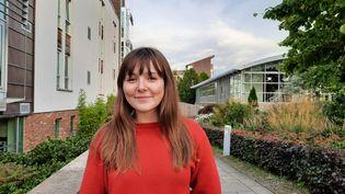 Tess dénonce sur les réseaux sociaux les conditions de vie sur le campus d'Édimbourg. (RICHARD PLACE / RADIO FRANCE)