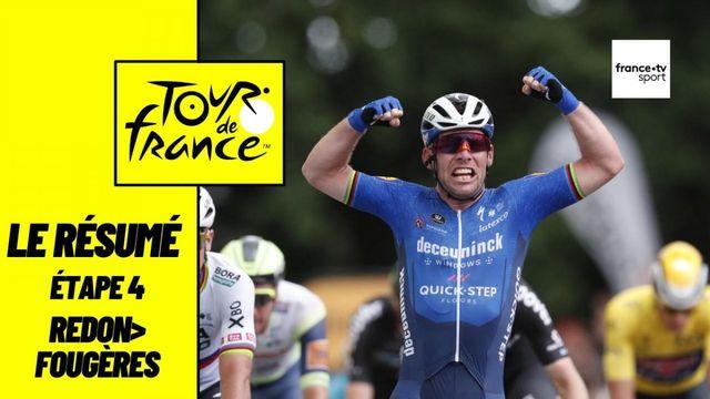 Tour de France 2021 : le résumé de l'étape 4