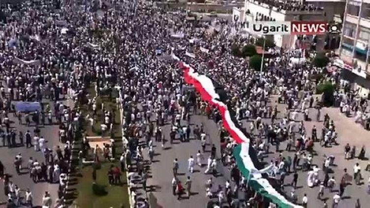 Manifestation à Hama le 17 juin 2011 (AFP - UGARIT NEWS)