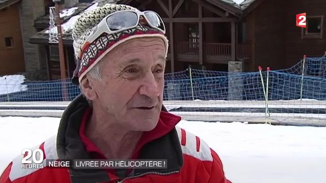 Dans les Alpes, le manque de neige provoque une polémique
