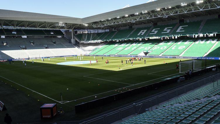 Le stade Geoffroy-Guichard à Saint-Etienne (PHILIPPE DESMAZES / AFP)