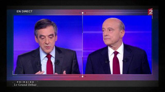 """Primaire de la droite : d'après Fillon, Juppé """"ne veut pas vraiment changer les choses"""""""