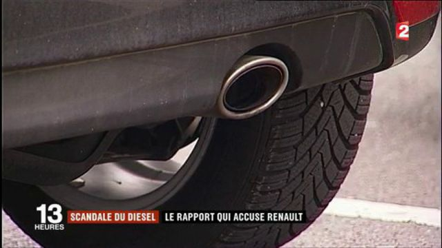 Scandale du diesel : le rapport qui accuse Renault de tricherie