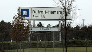 Site General Motors de Detroit-Hamtramck en novembre 2018. (JEFF KOWALSKY / AFP)