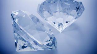 Un voleur a dérobé pour 100 000 euros de diamants, au Blanc-Mesnil (Seine-Saint-Denis), mercredi 26 février 2014. (REB IMAGES / IMAGE SOURCE / AFP)